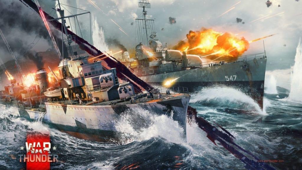 Warthunder Naval Battles Cbt