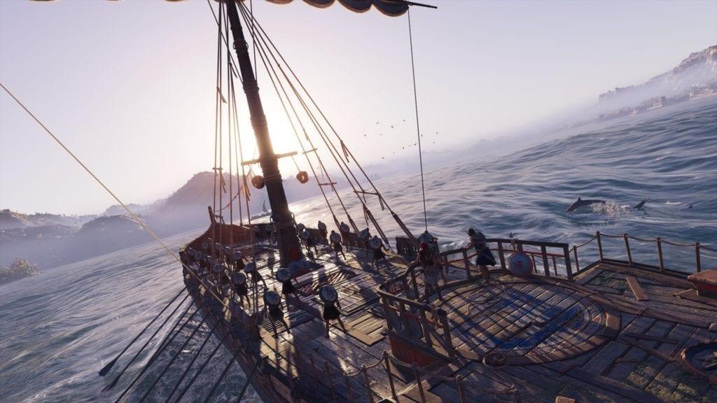 Assassins Creed Odyssey naval battle