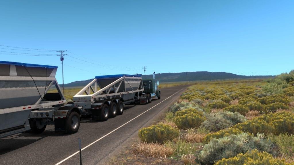 American Truck Simulator Oregon Dlc Through The Fields
