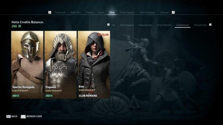 Assassin's Creed Odyssey Microtransactions Ship Cosmetics And Lieutenants