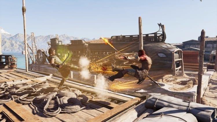 Assassin's Creed Odyssey Combat Abilities Spartan Kick