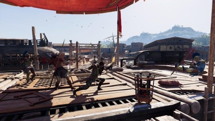 Assassin's Creed Odyssey Guide Combat Abilities Shield Breaker