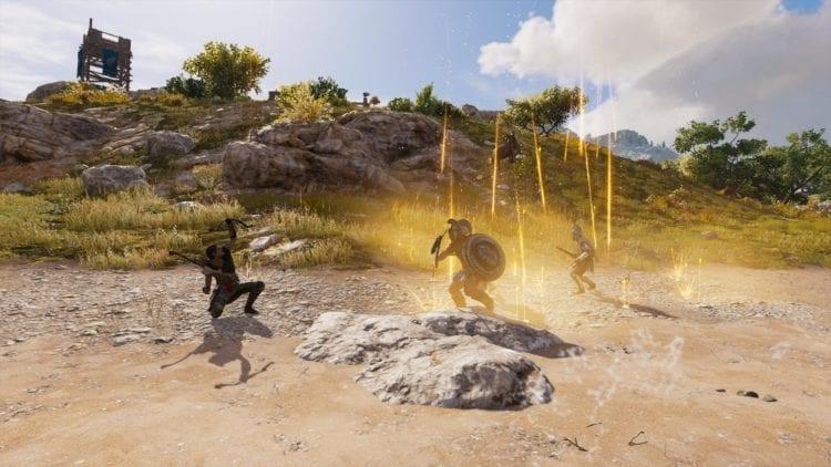 Assassin's Creed Odyssey Guide Combat Abilities Skills Rain Of Destruction