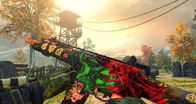 Call Of Duty Black Ops 4 Black Market Contraband Cosmetics