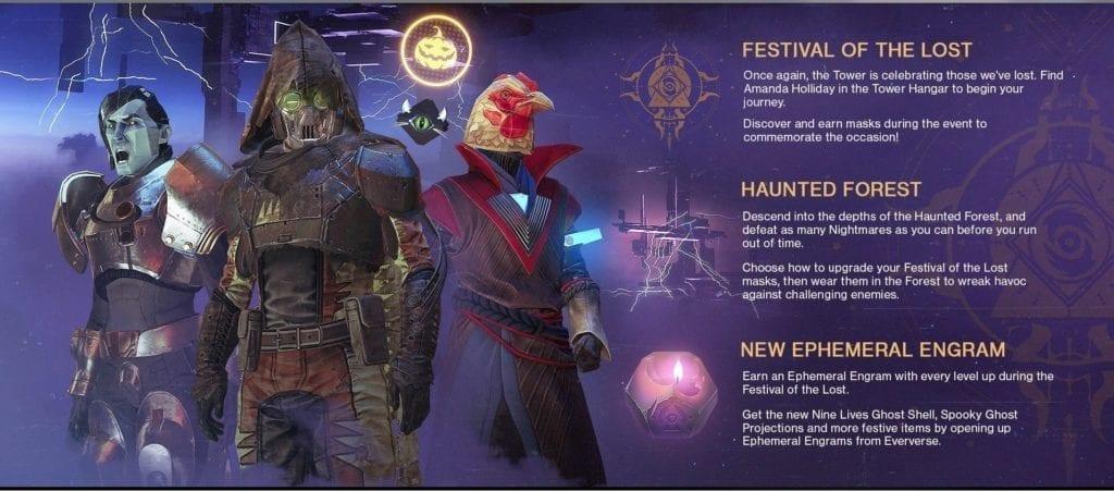 Destiny 2: Forsaken - Festival Of The Lost Event Guide | PC Invasion