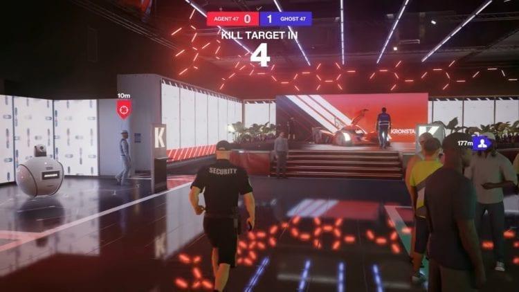 Hitman 2 Ghost Mode Target