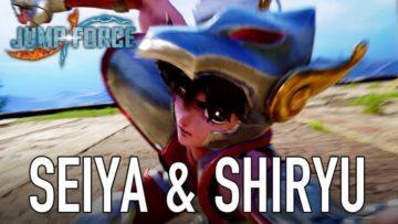 Jumpforce Seiya And Shiryu