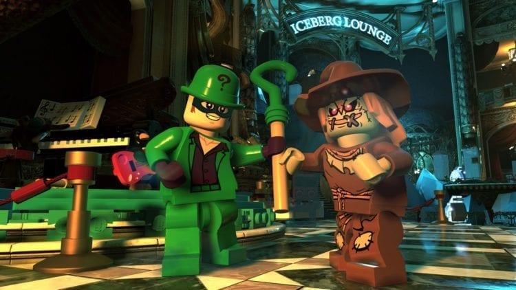 Lego DC Super Villains, Riddler and Scarecrow