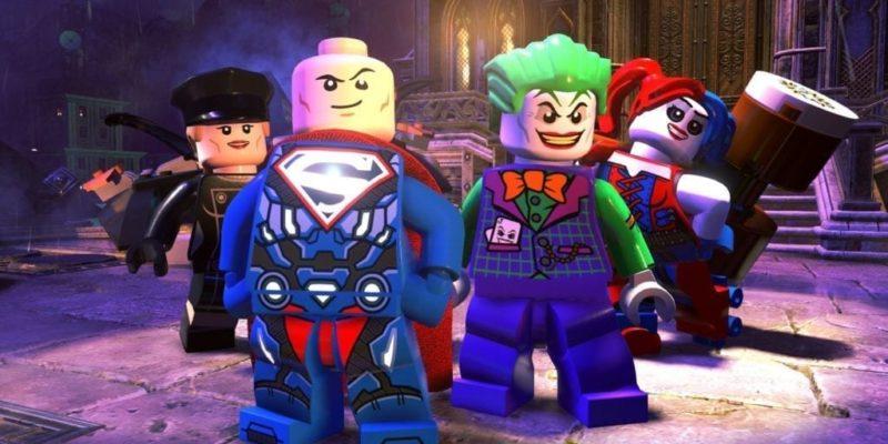 Lego Dc Super Villains Crew