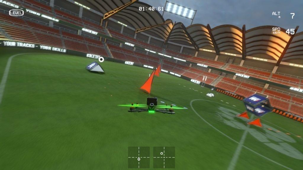 Liftoff Stadium Flight