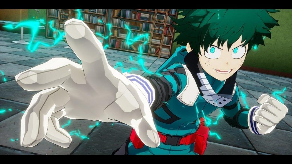My Hero One's Justice Izuku Midoriya