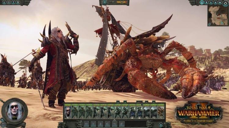 Total War Warhammer 2 Vampire Coast Dlc Luthor Harkon