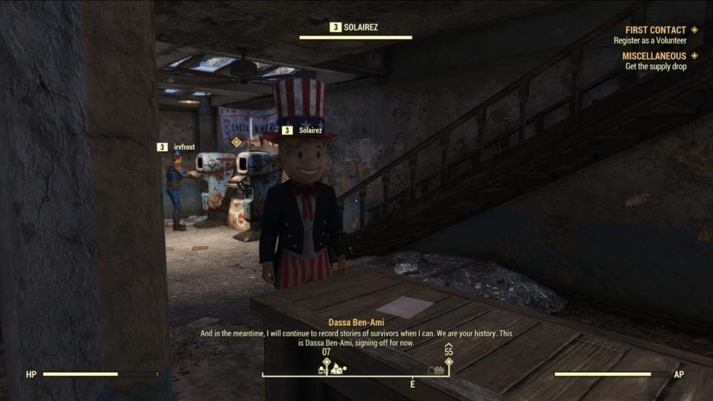Fallout 76 Beta Crowd