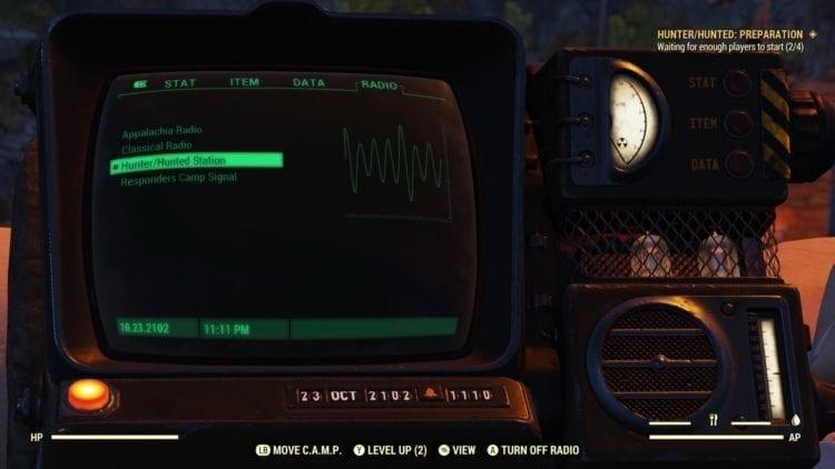 Fallout 76 Hunter Hunted