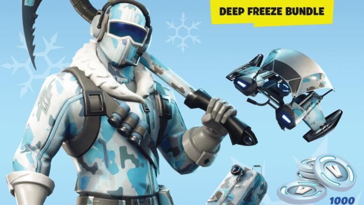 Fortnite Deep Freeze Bundle Coming In November