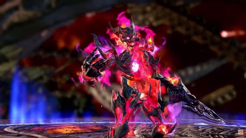 Inferno Soulcalibur