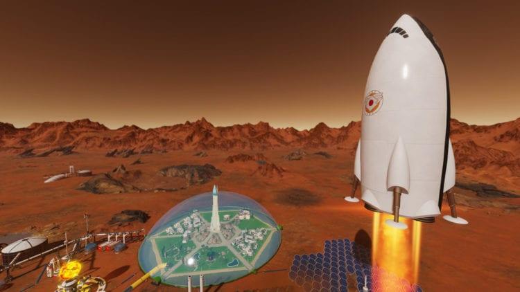 Surviving Mars Announces 'Space Race' DLC