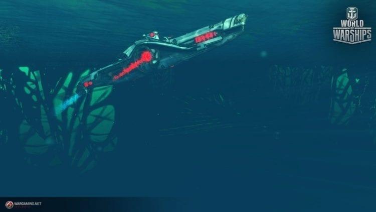 World Of Warships Halloween Submarine 2