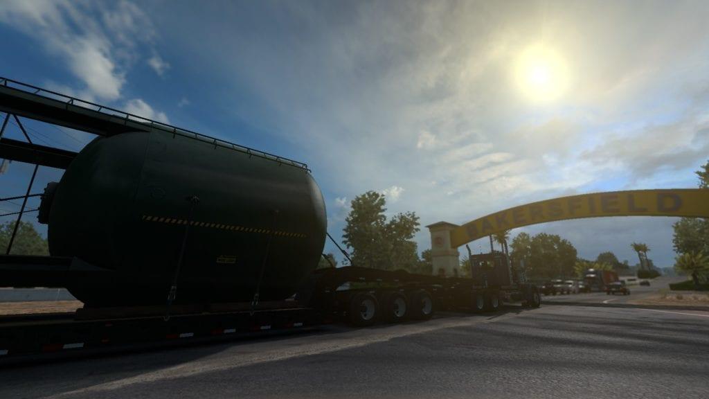 American Truck Simulator Special Transport Dlc Giant Silo