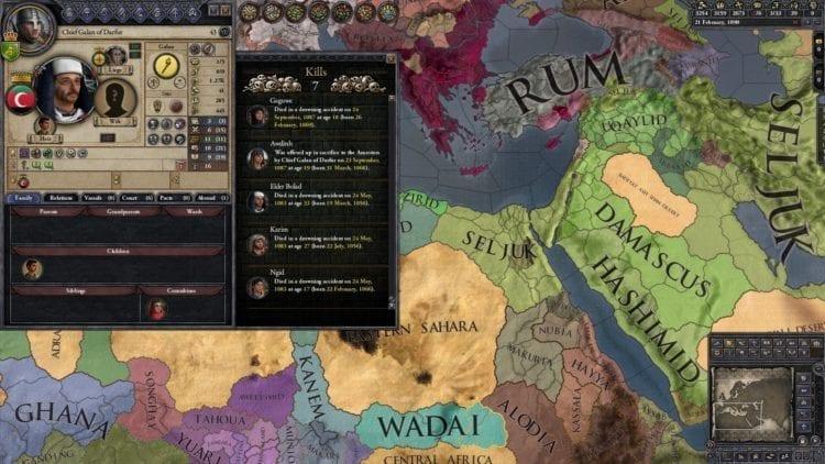 Crusader Kings 2 Holy Fury Review Kill List