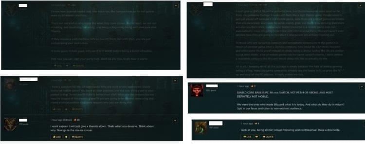 Diablo Immortal Blizzard Forums Controversial