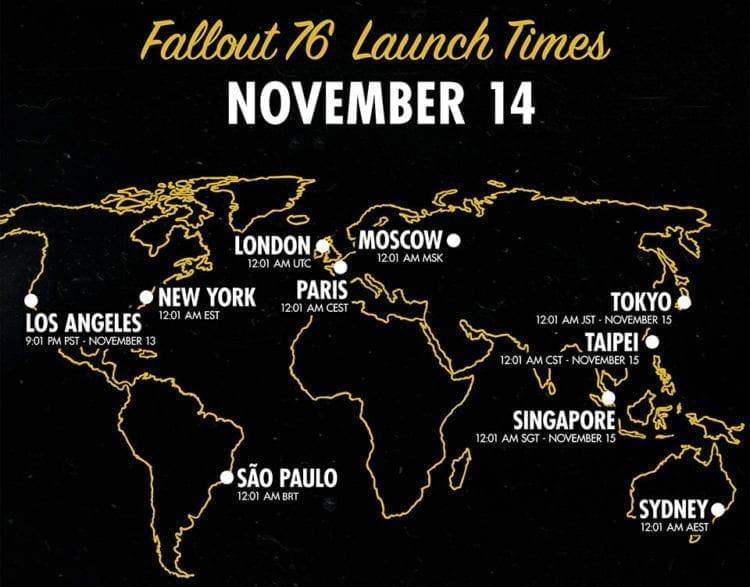 Fallout76 Globallaunch En