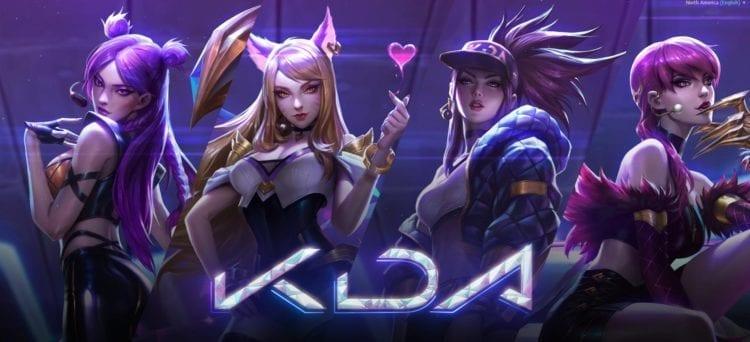League of Legends Riot Games K/DA K-Pop LoL World Championships