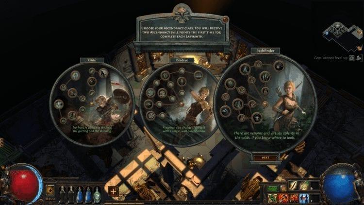 Path Of Exile Diablo Beginner Ascendancy