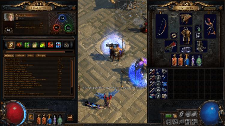 Path Of Exile Diablo Beginner Hours Played