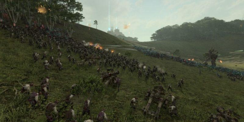 Review Total War Warhammer Curse Of The Vampire Coast Lizardmen Battle