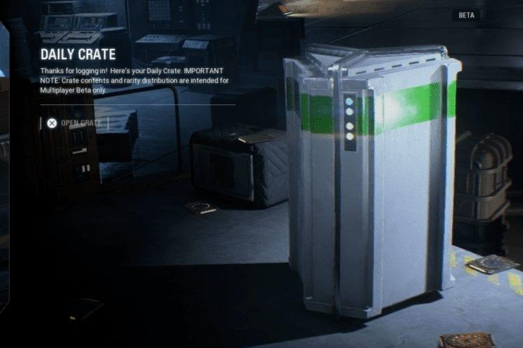 Star Wars Battlefront 2 Daily Loot Box