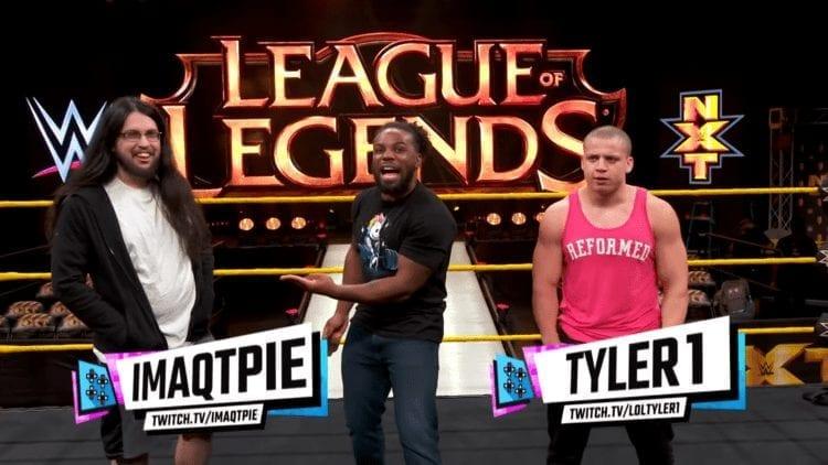 Wwe Vs. Nxt League Of Legends imaqtpie Tyler1 UpUpDownDown Austin Creed Xavier Woods