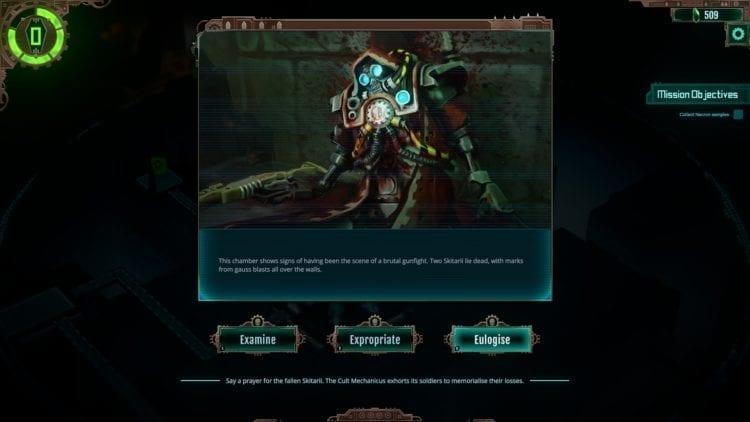 Warhammer 40k Mechanicus Review Battle Choices 2