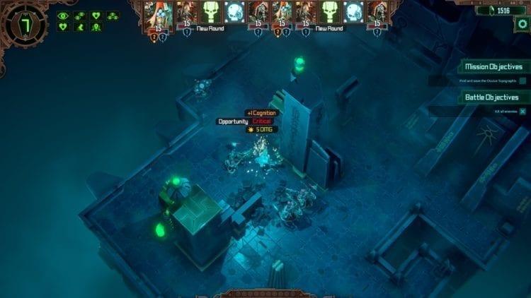 Warhammer 40k Mechanicus Review Battle Opportunity Attack