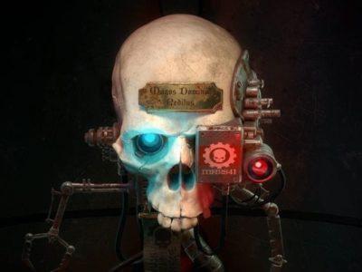 Warhammer 40k Mechanicus Review Logo