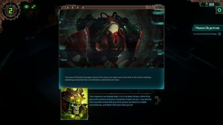 Warhammer 40k Mechanicus Review Necron Overlord