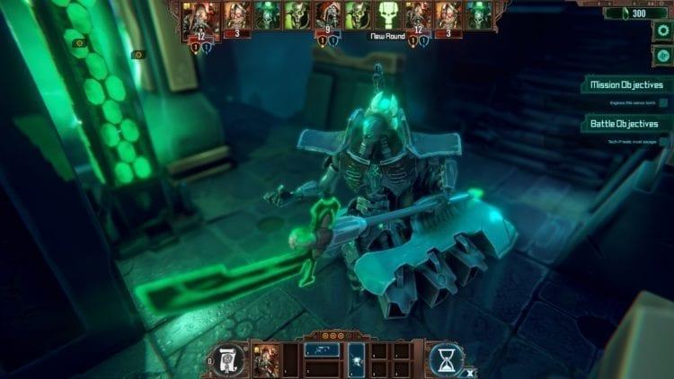 Warhammer 40k Mechanicus Review Necron Void Admiral