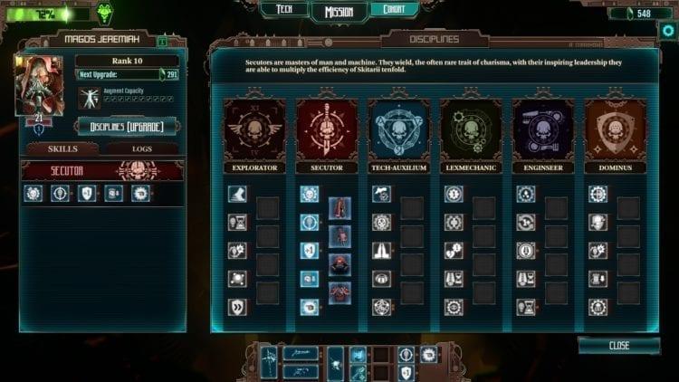 Warhammer 40k Mechanicus Review Tech Priest Disciplines