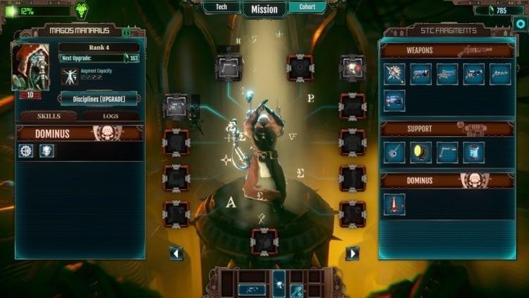 Warhammer 40k Mechanicus Review Tech Priest Level Up