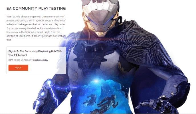 Anthem Closed Alpha Sign Up Ea Bioware