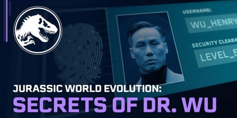 Jurassic World Evolution Secrets Of Dr Wu Grab 1