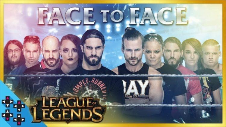 League Of Legends NXT Vs WWE Showdown Results