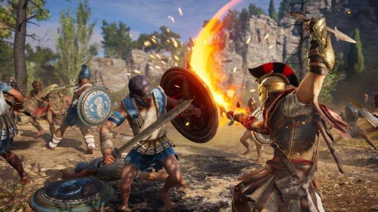 Assasssins Creed Odyssey Flaming Sword