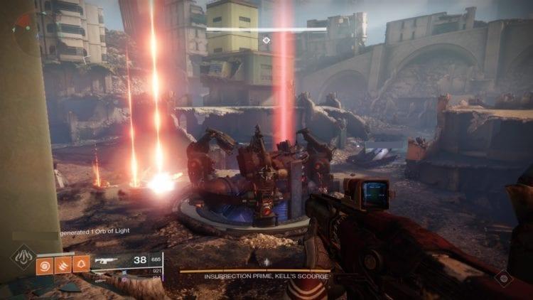 Destiny 2 Black Armory Scourge Of The Past Raid Guide Tank Battle