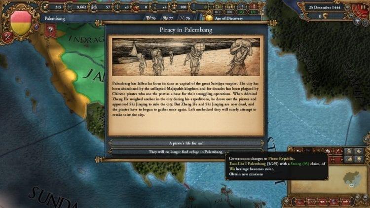 Europa Universalis 4 Golden Century Review Palembang Piracy