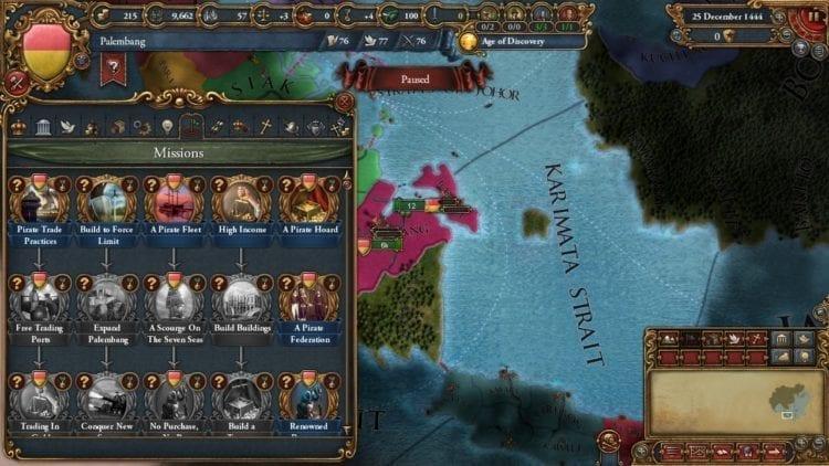 Europa Universalis 4 Golden Century Review Palembang Piracy Ideas
