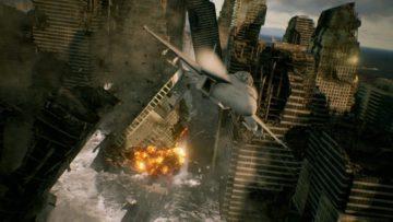 Ace Combat 7 Crumbling City Screenshot