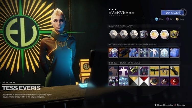 Destiny 2 Bungie Activision Split Eververse