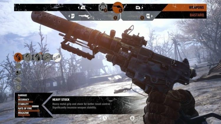 Metro Exodus Weapons Upgrade System