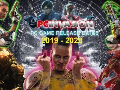 Pc Game Release Calandar 2019
